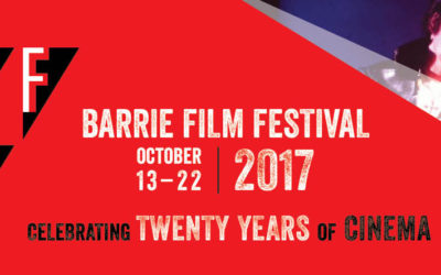 ZuZu is back as a sponsor of the Barrie Film Festival