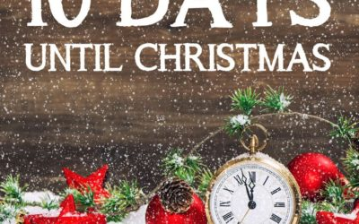 Christmas Countdown 2017 – Friday December 15 is number 10