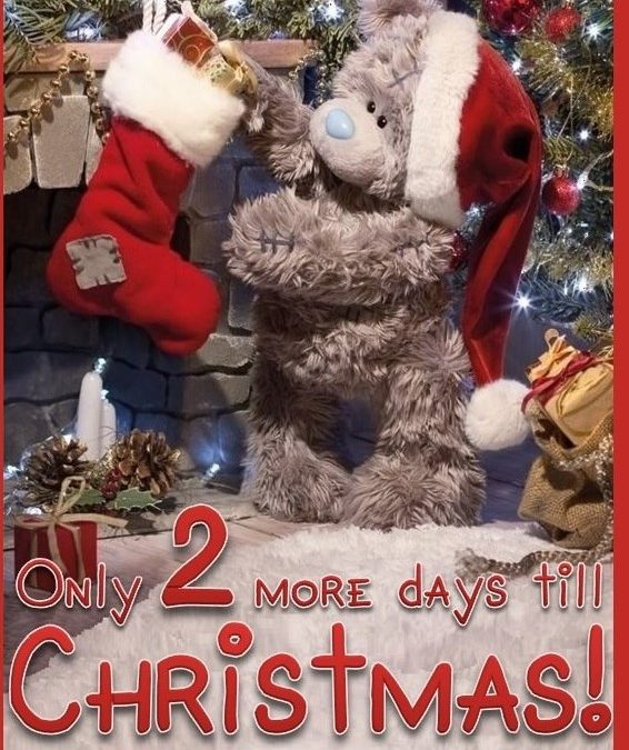 Christmas Countdown 2017 – Saturday December 23 is number 2