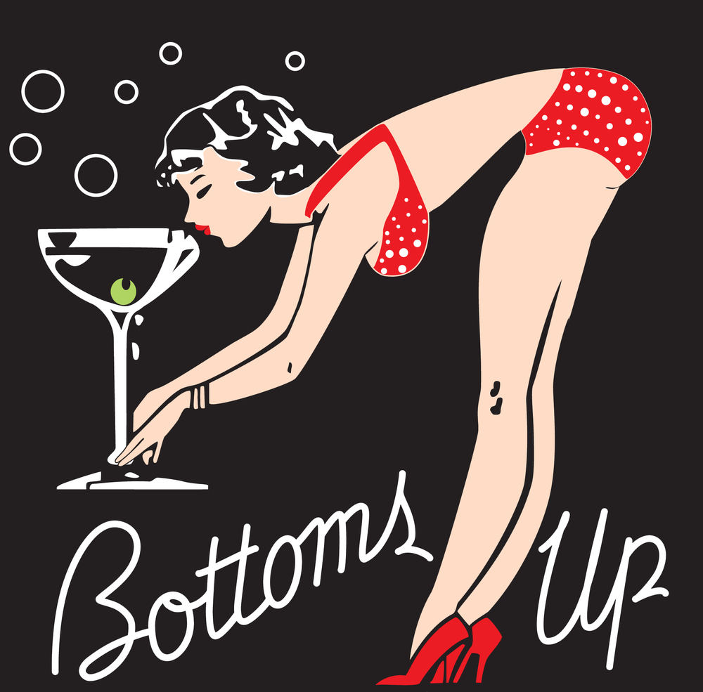 Sexy bottoms up