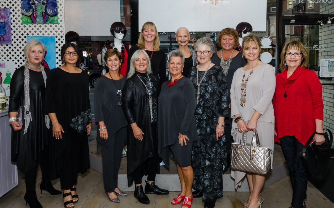 Beautiful women…beautiful fashions!  Code Vitesse Fall Launch rocks the catwalk!