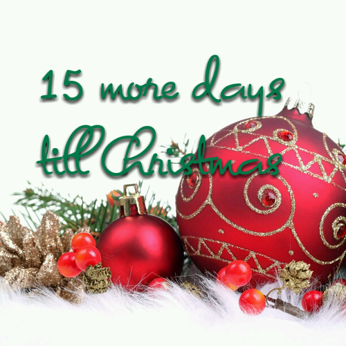 Christmas Countdown – 15 days