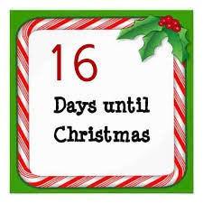 Christmas Countdown – 16 days
