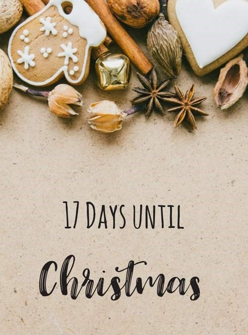 Christmas Countdown – 17 days