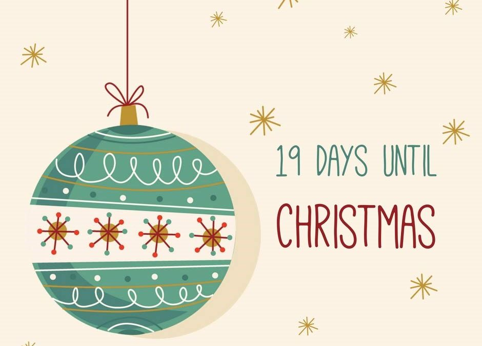 Christmas Countdown – 19 days