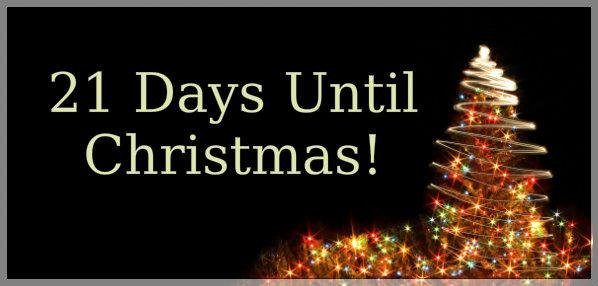 Christmas Countdown – 21 days
