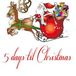 Christmas Countdown – 5 days