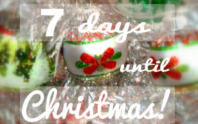 Christmas Countdown – 7 days