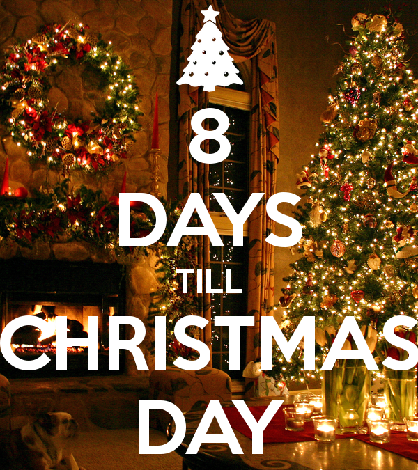 Christmas Countdown – 8 days