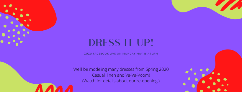 Dress It Up!  FACEBOOK LIVE Event