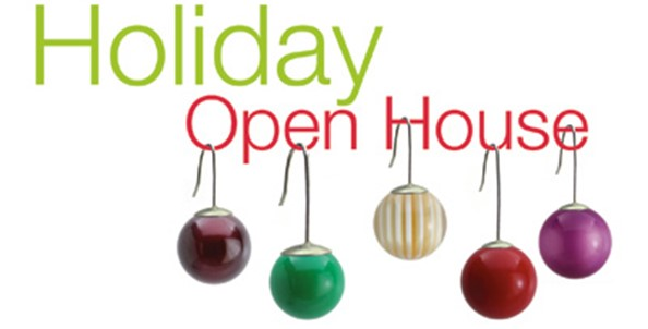 November 1 kicks off our 6th annual Holiday Open House