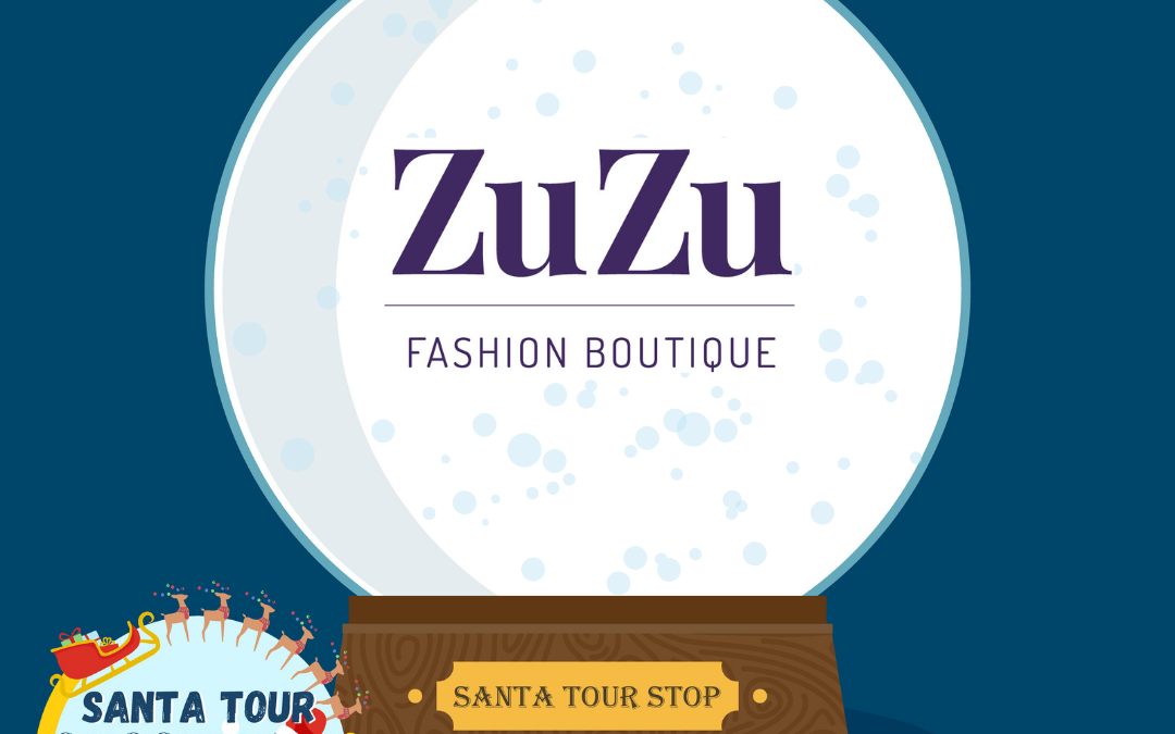 VIDEO ALERT! Santa stops at ZuZu to shop for his lady!